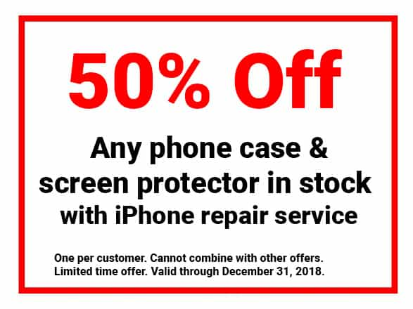 iPhone repair coupon